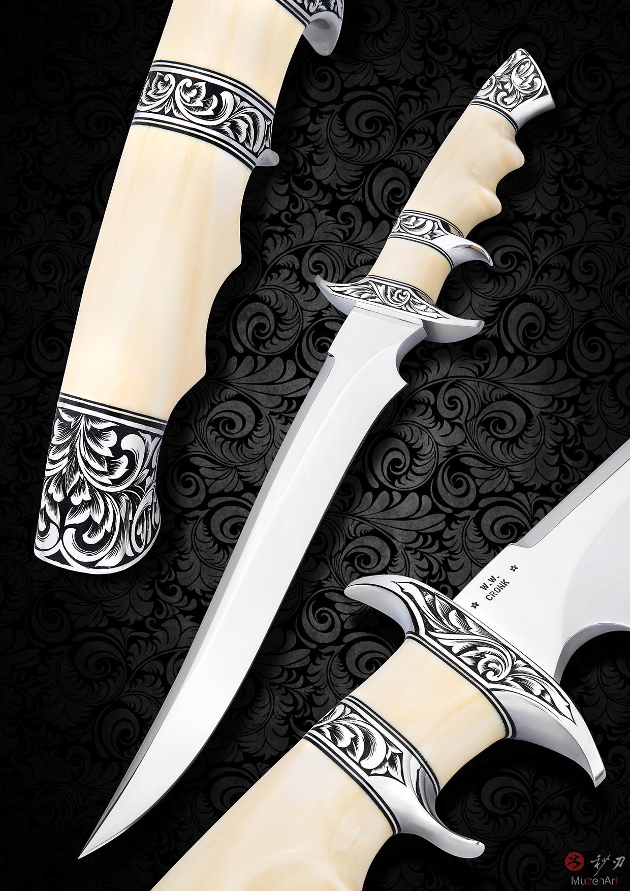 双护手战斗刀